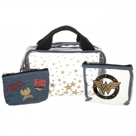 Wonder Woman 3 Piece Travel Set