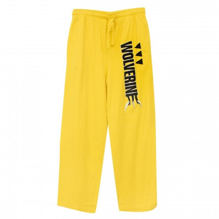 X-Men Wolverine Cyber Yellow Unisex Sleep Pants