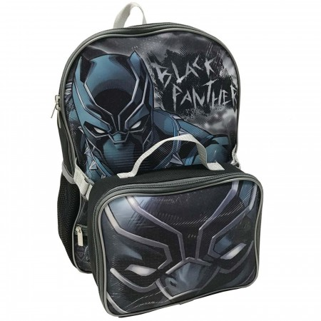 Black Panther Backpack and Lunchbox