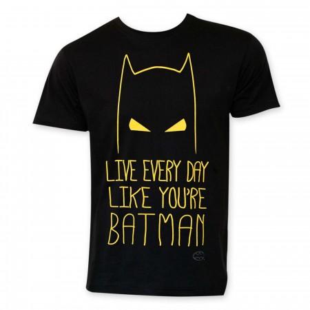 Live Like Batman Men's T-Shirt