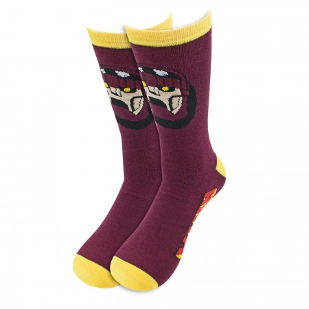 X-Men 90's Cartoon Sentinel Crew Socks