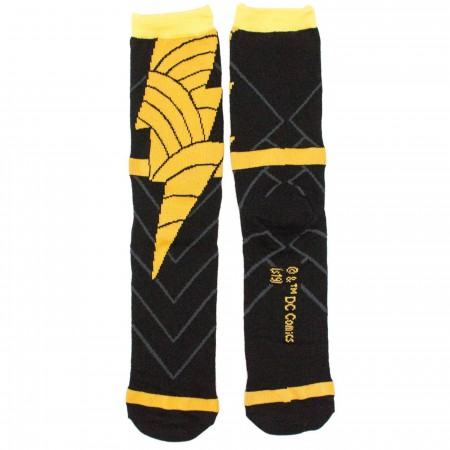 Black Adam Costume Crew Socks