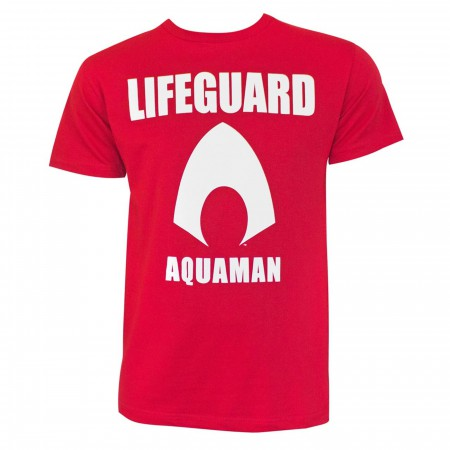 Aquaman Movie Lifeguard Men's T-Shirt
