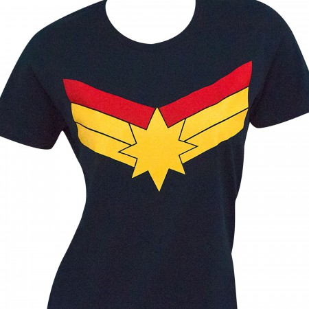 Captain Marvel Symbol Women's Standard T-Shirt