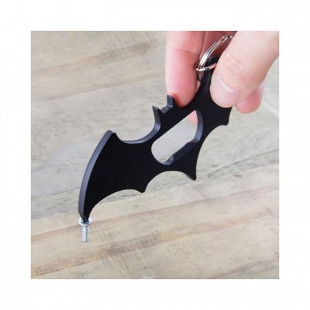 Batman Key Ring Bottle Opener with Screwdriver