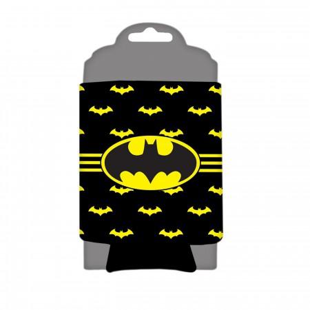 Batman Striped Can Cooler