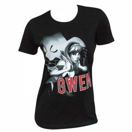 Spider-Gwen Silhouette Women's T-Shirt