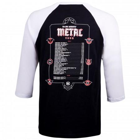 Dark Nights: Metal Tour by Greg Capullo DC Men's Baseball Shirt