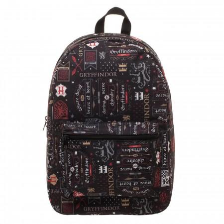 Harry Potter Gryffindor House Backpack