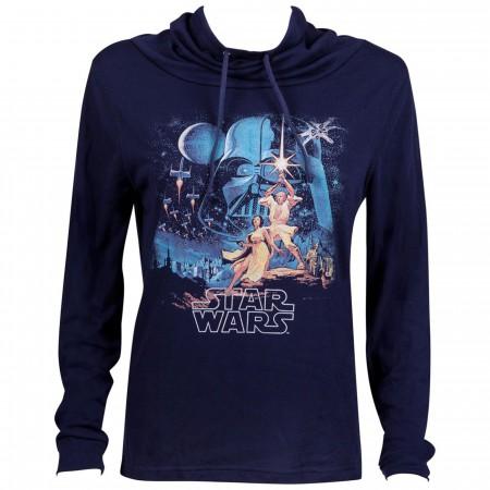 Star Wars Movie Poster Long Sleeve Women's T-Shirt