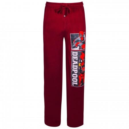 Deadpool Burgundy Sleep Pants