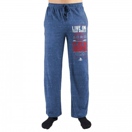 """Sony Playstation """"Live in your World"""" Pants"""