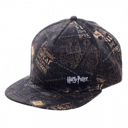 Harry Potter Art Adjustable Snapback