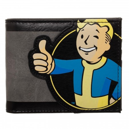 Fallout Vault Boy Bifold Wallet