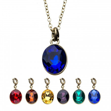 Infinity Gauntlet Interchangeable Pendant Necklace