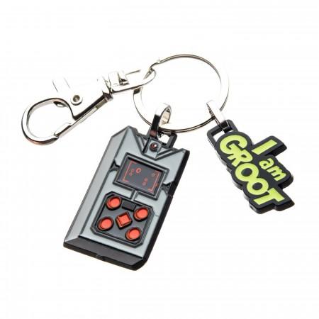 Groot's Game Key Chain