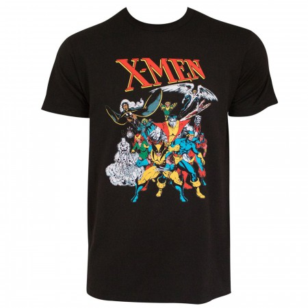 X-men Breakthrough Image Soft Men's Black T-shirt