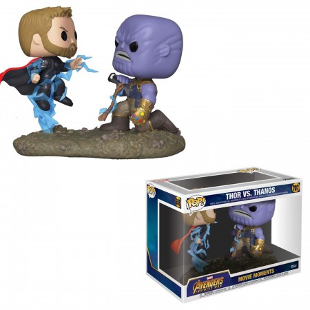 Movie Moments: Marvel - Thor vs Thanos Funko Pop