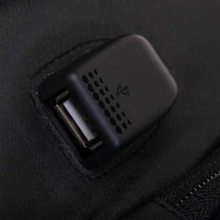 Flash EL Lighted 3 Panel Powered Backpack