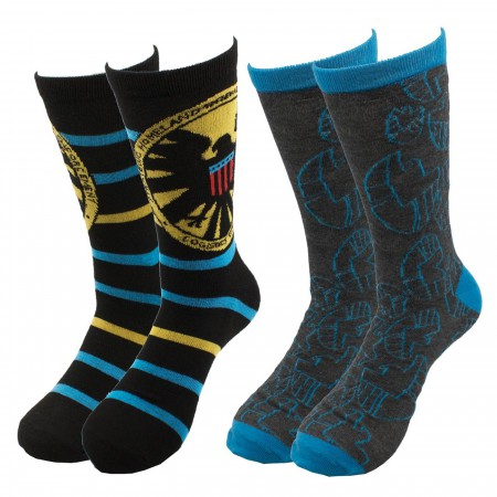 SHIELD 2-pack Crew Socks