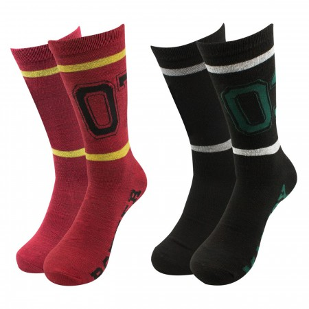 Harry Potter Team Jersey 2-pack Crew Socks