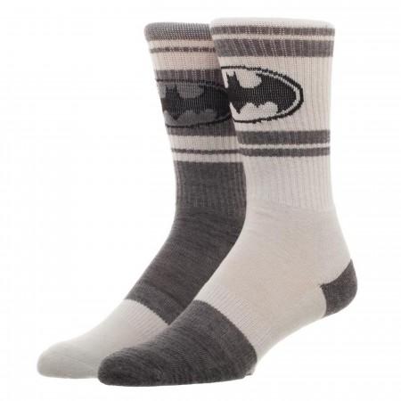 Batman Flipped Colors Crew Socks