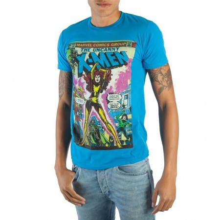 Dark Phoenix X-men Blue Men's T-shirt