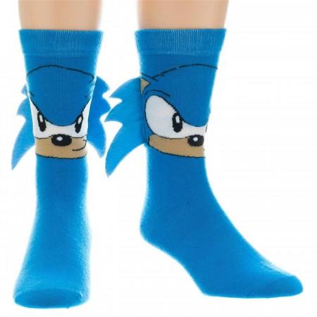 Sega Sonic Crew Sock with Quills