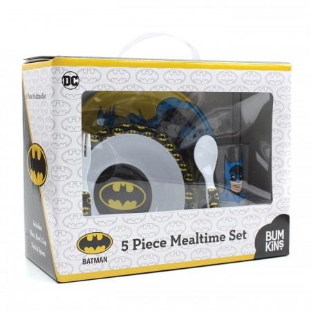 Batman 5 Piece Mealtime Set