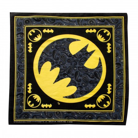 Batman Symbol Bandana