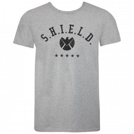Captain Marvel Movie SHIELD Logo Men's T-Shirt