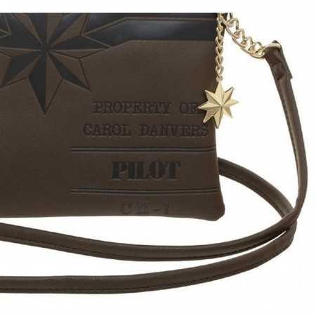 Captain Marvel Major Danvers Crossbody Bag with Charm