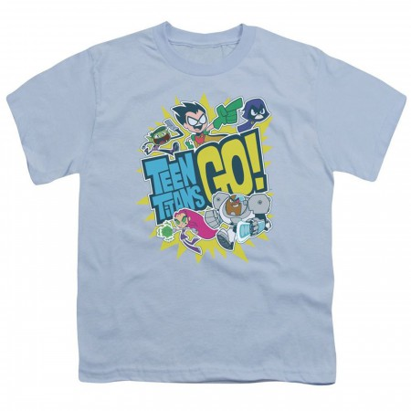 Teen Titans Go Logo Kids T-Shirt