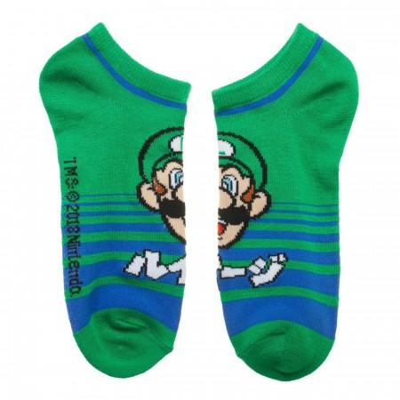 Nintendo Super Mario Three Pack Ankle Socks