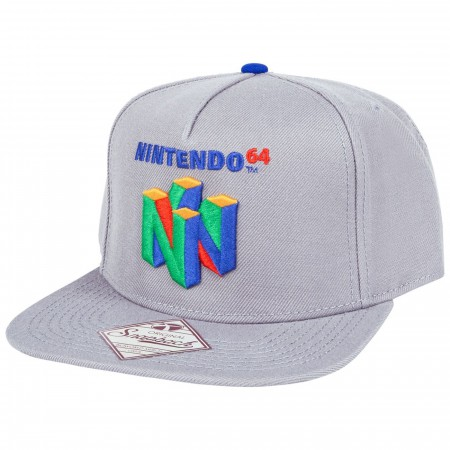 Nintendo 64 Logo Snapback Hat