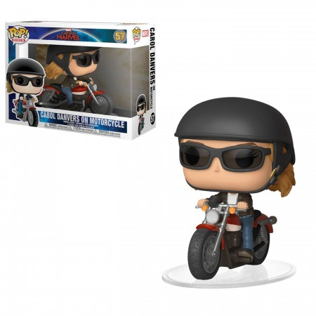 Pop! Ride: Marvel - Captain Danvers on Motorcycle