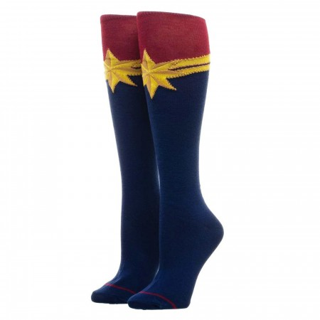 Captain Marvel Logo Socks