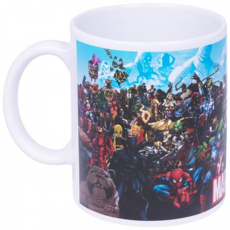 All of Marvel Group Shot Coffee Mug