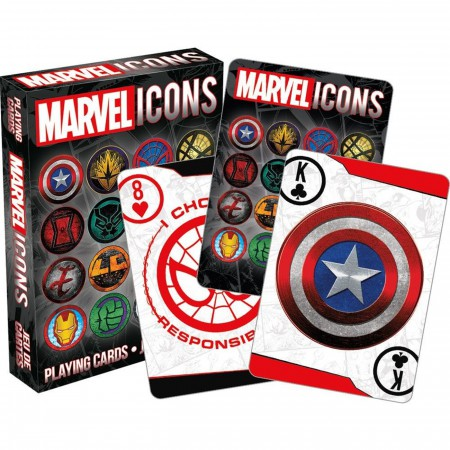 Marvel Icon Playing Card