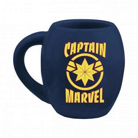 Marvel Captain Marvel 18 oz. Oval Ceramic Mug