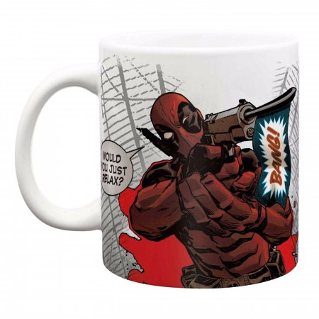 Deadpool Distressed Coffee Mug