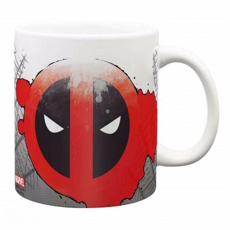 Deadpool Distressed Coffee Mug