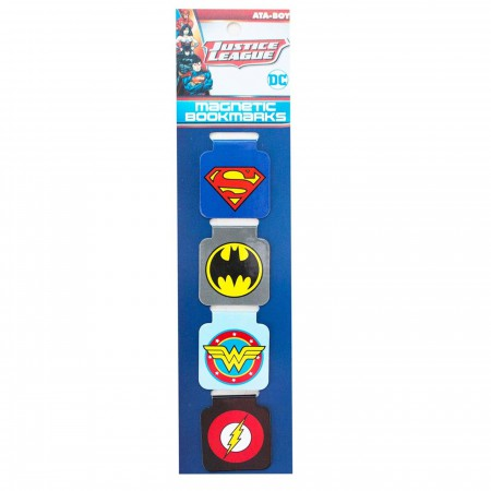 DC Logo's Magnetic Bookmark Set