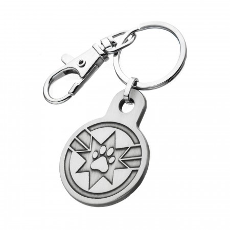 Captain Marvel Movie Goose Key Chain