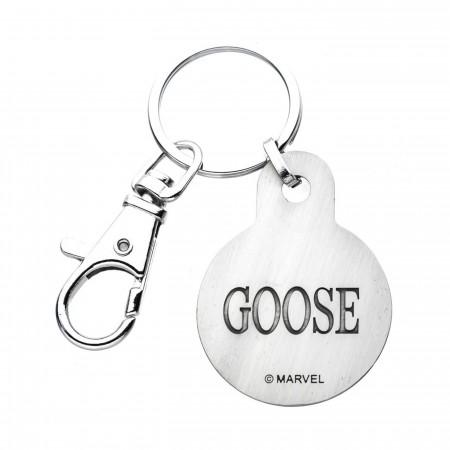 Captain Marvel Movie Goose Key Chain