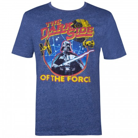 Star Wars Darth Vader The Dark Side of The Force Men's Heather T-Shirt