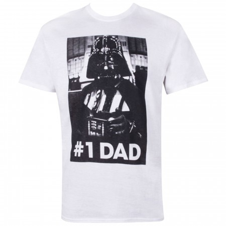 Star Wars Men's Darth Vader #1 Dad T-Shirt