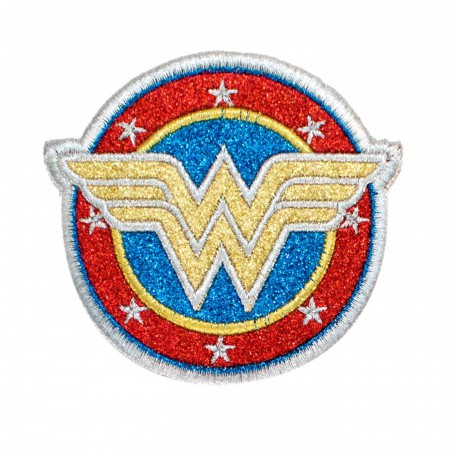 Wonder Woman Symbol Gitter Patch