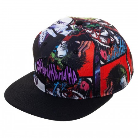 Joker Sublimated Snapback Hat