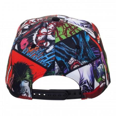 Joker Sublimated Snapback Hat
